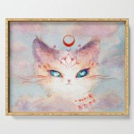 Stargazer Cat : Vision Seeker Serving Tray