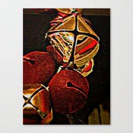 Christmas Jingle Bells Canvas Print