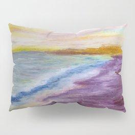 purple beach Pillow Sham