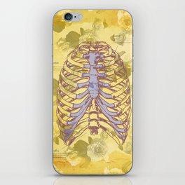 Os et des fleurs iPhone Skin