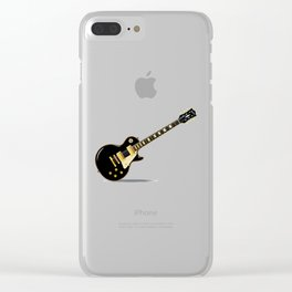 Solid Blues Clear iPhone Case