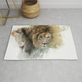 Expressions Lion Rug
