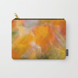 Sweeping Orange Strokes Carry-All Pouch