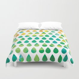 Monsoon Rain Duvet Cover