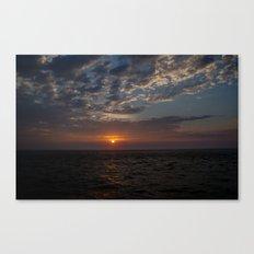 Sunrise on Fripp Island 2 Canvas Print