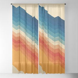 Barricade Sheer Curtain
