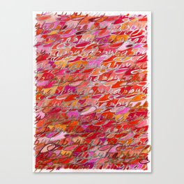 Happy Two, from The Happiness Series Canvas Print