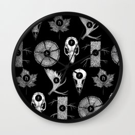 RUNES II Wall Clock