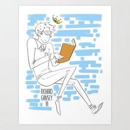 Gansey Art Print