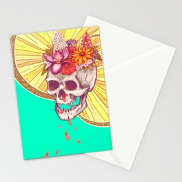 Skull Grave Stationery Cards