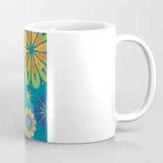 Psycho Flower Blue Mug
