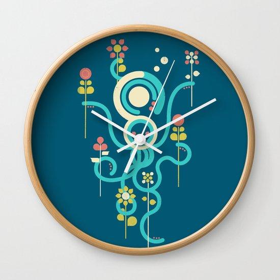 The Gardener Wall Clock
