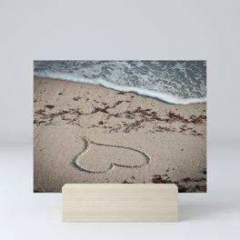 Valentine on the Beach Mini Art Print