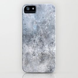 Gray Angst 1 iPhone Case