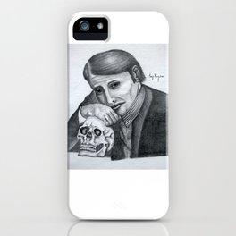 Mads Mikkelsen as Hannibal Portrait iPhone Case