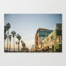 Venice Beach Boardwalk Canvas Print