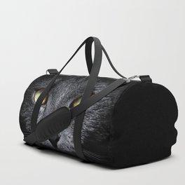 Grace of a black cat Duffle Bag