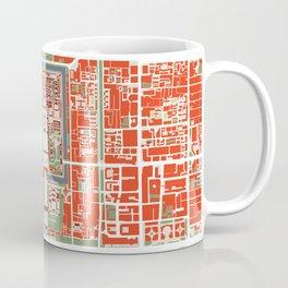 Beijing city map classic Coffee Mug