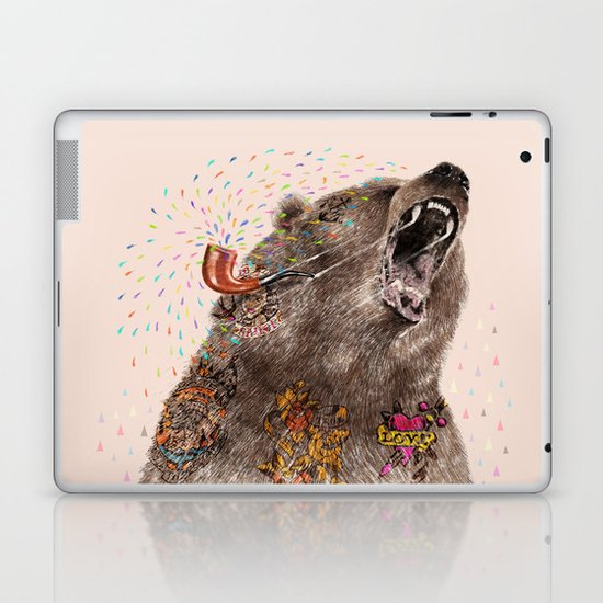 Angry Bear II Laptop & iPad Skin