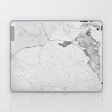 White Marble Laptop & iPad Skin