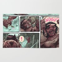 conan Area & Throw Rugs featuring Conan by Logan  Faerber