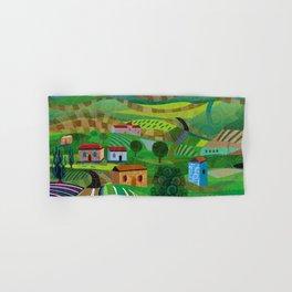 Santa Barbara Wine and Cheese Hand & Bath Towel