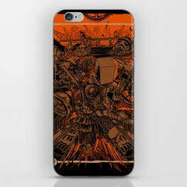 SAMURAI 2 iPhone Skin