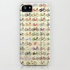 Bikes iPhone (5, 5s) Slim Case