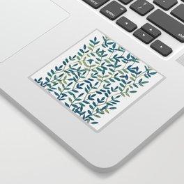 Leaves 6 Sticker
