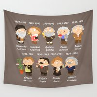 science Wall Tapestries featuring science by Alapapaju