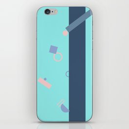 Popping Shapes iPhone Skin