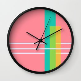 Bubble Girl Wall Clock