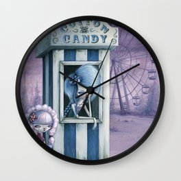 Cotton & Candy Wall Clock
