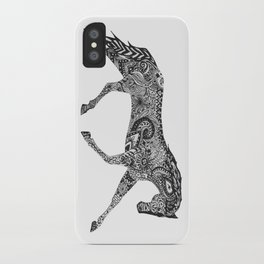 Paisley Pace iPhone Case