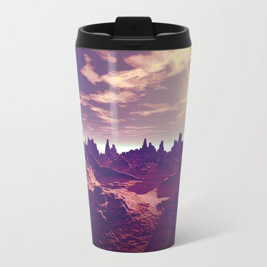 Arizona Canyon Sunshine Metal Travel Mug