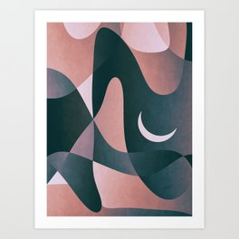 Nightly Cave Stay Art Print