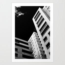 Corporate world Art Print