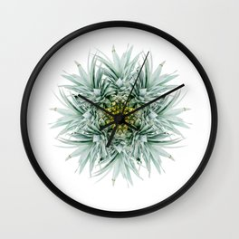 Abstract Pineapple Wall Clock