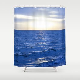 Heavenly Blues - Gagliano Photography Shower Curtain