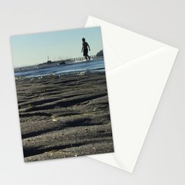 Clean Sand Beach Stationery Cards