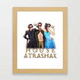 House Atrashax Framed Art Print
