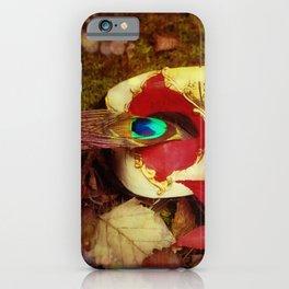 Woodland Masquerade iPhone Case