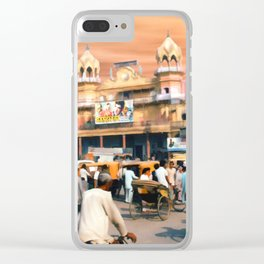 Old Dehli Clear iPhone Case