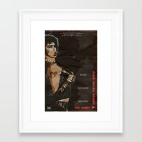 rocky horror picture show Framed Art Prints featuring Rocky Horror Picture Show by JAGraphic