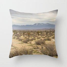 Saddleback Butte State Park Throw Pillow