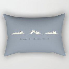 (Cat)erpillar Rectangular Pillow