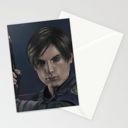 Leon S kennedy Re2 Stationery Cards