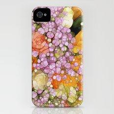 Mosaic Vintage-  Floral Spring Sparkles iPhone (4, 4s) Slim Case