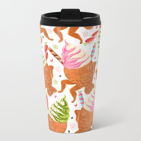 Taiyaki Mermaids Metal Travel Mug