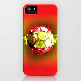 football  spain iPhone Case